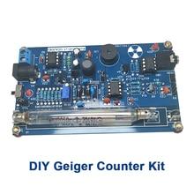 Собранный DIY счетчик Гейгера, модуль, Миллер, трубка GM, детектор ядерного излучения, гамма бета луч