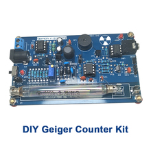 Kit de compteurs Geiger, Module de Miller Tube GM, détecteur de Radiation nucléaire, Gamma Beta ray