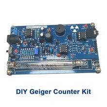 Montiert DIY Geigerzähler Kit Modul Miller Rohr GM Rohr Kern Strahlung Detektor GM rohr Gamma Beta ray