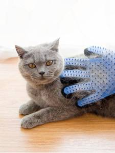 Glove Combs Grooming-Brush Cat-Cleaning-Supplies Bath Soft-Silicone Pet