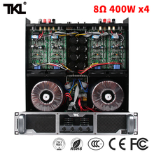 TKL 400W * 4 8ohm PX440 power amplifier for home karaoke projection 4ch professional amplifier