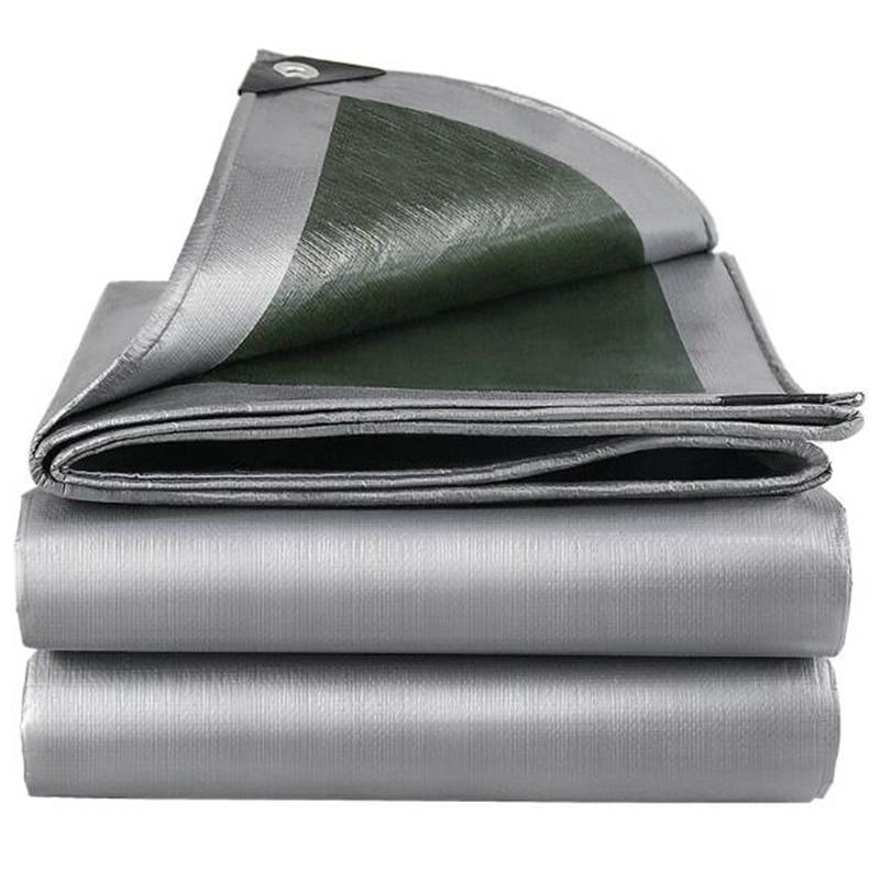 Various Size Garden Sunshade Cloth Waterproof Tarpaulin Ground Sheet Camping Lightweight Tarp for Car Truck Canopy Cloth
