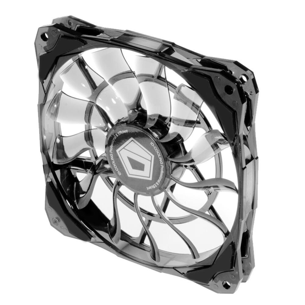 Magro Universal Cooler 120 milímetros Temperatura Da Água Controlada 4Pin Chassi Refrigeração Mudo Caso PC Ventilador de refrigeração Do Dissipador de Calor Do Radiador