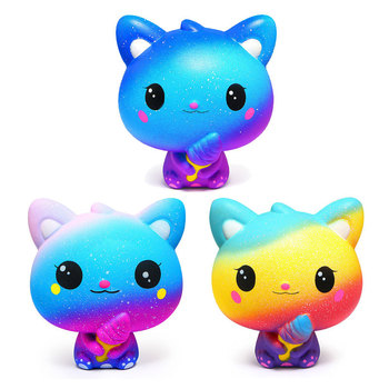 Kawaii Avocado Diy Antistress Squishy Toys Simulated deer Series Slow Rising Stress Relief Funny Toy for Baby Xmas Gift kawaii donald duck squishy slow rising simulation cartoon doll soft scented squeeze toys stress relief for kid xmas gift toy