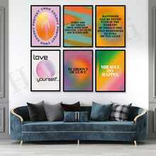 Grainy Gradient| Aura Poster| Retro Gradient Poster| Gradient Poster| Psychedelic Decor| Aesthetic Decor| Protect Your Energy