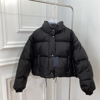 Down Coat Winter Women 2020 Fashion Women Clothes Extra Light Warm 90% White Duck Down Filling Sleeves Detachable Women Jackets 1