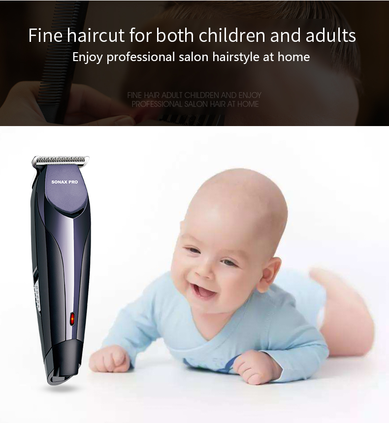 Sonax Pro 8086 Men Rechargeable Professional Adjustable Comb Hair Trimmer Electric