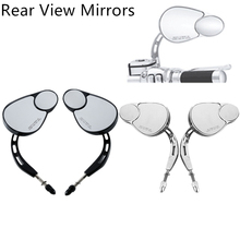 Motorcycle Rear View Mirror For Harley Touring Road King Classic SOFTAIL DELUXE FXDB DYNA FXDF FLSTF 8MM Accessories