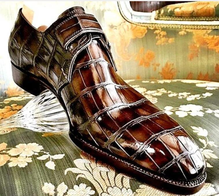 Новинка; Модные мужские туфли без застежки из высококачественной искусственной кожи; Мужские Повседневные Классические модельные туфли на низком каблуке; Zapatos De Hombre; TV665|Повседневная обувь|   | АлиЭкспресс