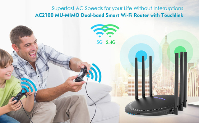 Wireless High Gain Antennas 5G Wifi Router