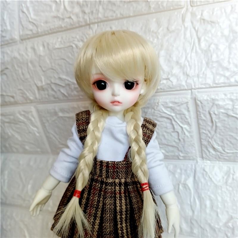 BJD SD 1/3 1/4 1/6 1/8 60 см Ночная кукла Lori милый конский хвост парик высокая температура волокно кукла парик аксессуары для куклы