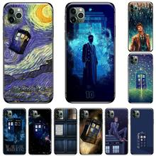 Tardis Box Doctor Who TARDIS Newly Arrived Black Cell Phone Case For iphone 5 5S SE 5C 6 6S 7 8 plus X XS XR 11 PRO MAX