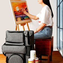 Art-Bag Painting-Set Drawing-Board Canvas Artist for Travel Art-Supplies Sketching-Tools