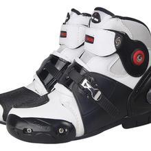 Новые A9003 автомобильные гонки обувь внедорожные мотоциклетные ботинки Профессиональный мото черный botas скоростной спортивный мото крест