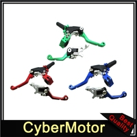 Racing Foldable Clutch Brake Levers Handle For Chinese 50cc 190cc Pit Dirt Bike Motor SSR DHZ Explorer Pitpro Thumpstar M2R