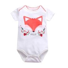 Baby Bodysuit Costume Short-Sleeve Girl Boy Cotton Fashion Unisex Summer New Born