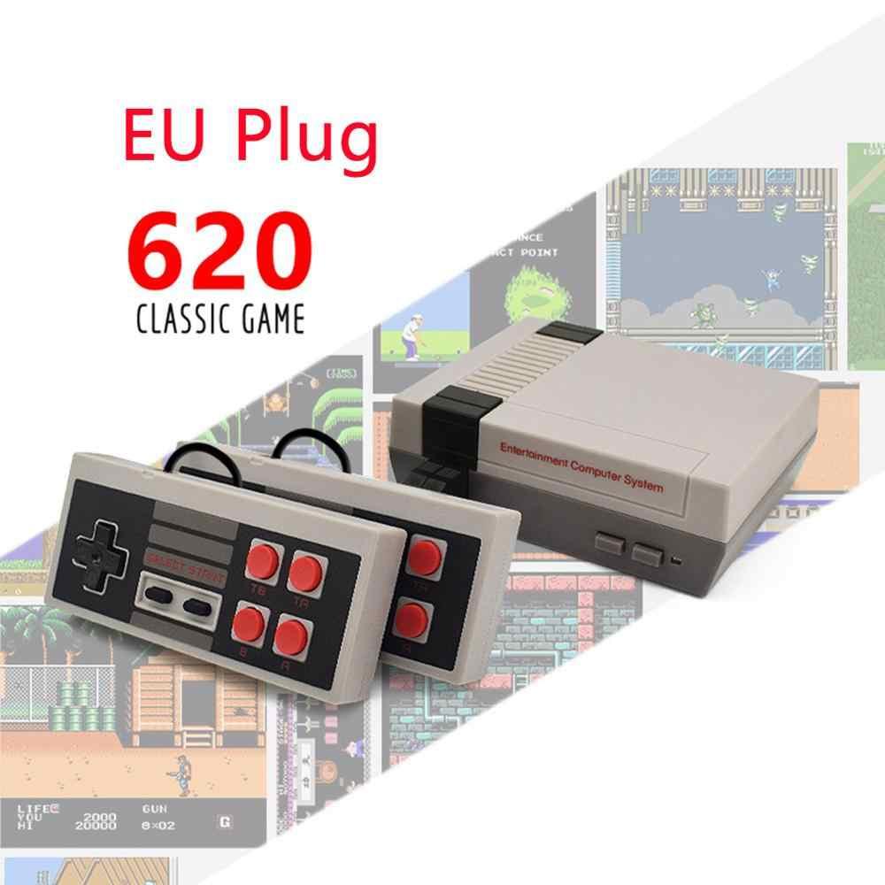 دروبشيبينغ AV الناتج التلفزيون المصغر لعبة فيديو وحدة التحكم المدمج في 620 ألعاب ل 4K TV PAL و NTSC يده الألعاب لاعب اللعب الهدايا الصبي