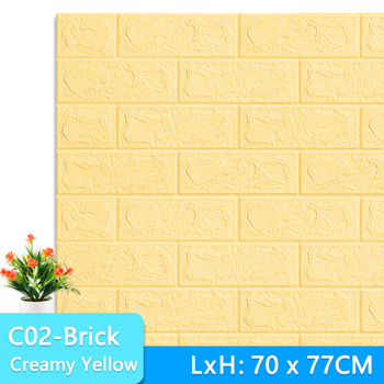3D Wall Stickers Marble Brick Peel and Self-Adhesive Wall paper Waterproof DIY Kitchen Bathroom Home Wall Decal Sticker Vinyl 10