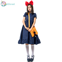 Halloween Black witch home urgency Kiki COS clothing adult children Japanese little witch Witch parent-child printio little witch academia