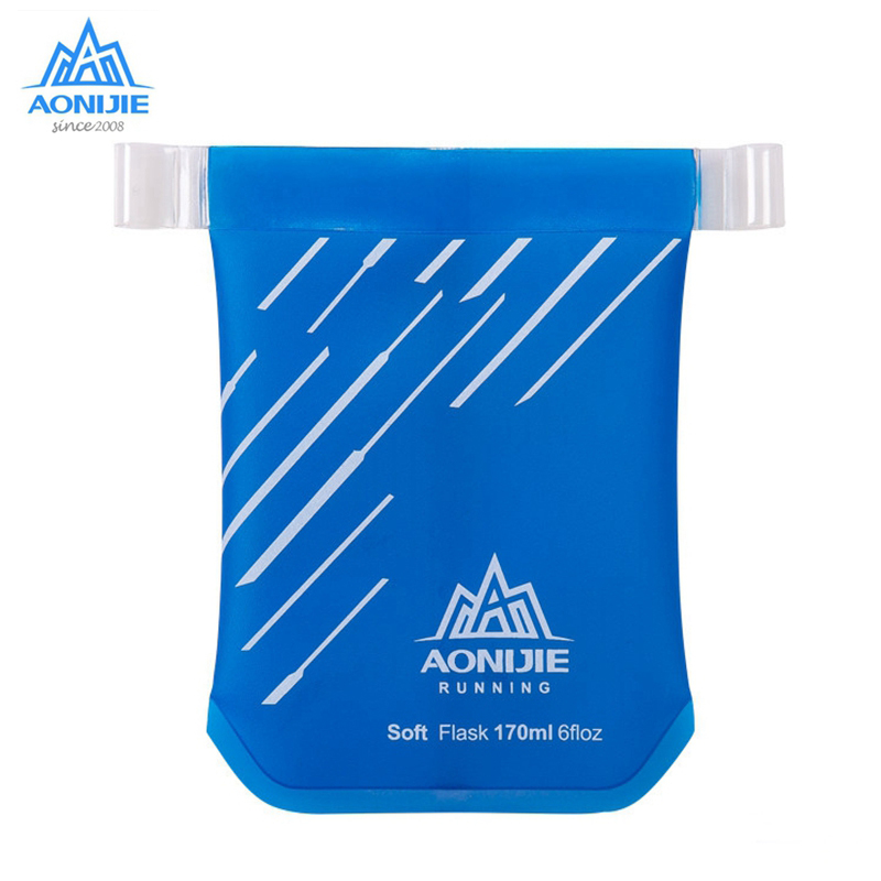 AONIJIE TPU Folding Water Bottle Soft Marathon Cup Water Bag Cup Kettle Outdoor Sports Exercise Running