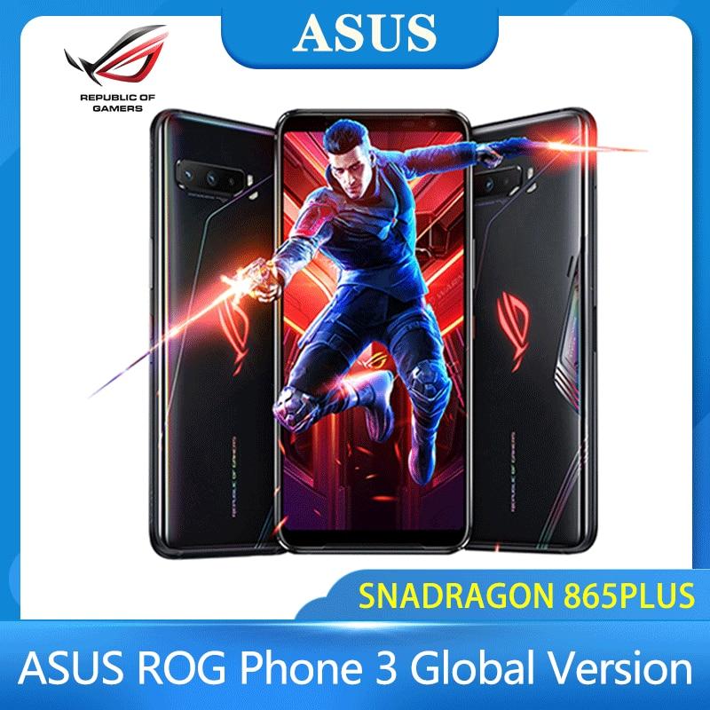 Asus ROG phone 3 Snapdragon 865 / 865 plus Global Version NFC 5G Gaming phone 6000mAh 12/16G+128/256/512G Smartphone ROG phone 3| | - AliExpress