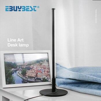 Dimmable Bar Shape LED Desk Lamp Desk & Table Lamps