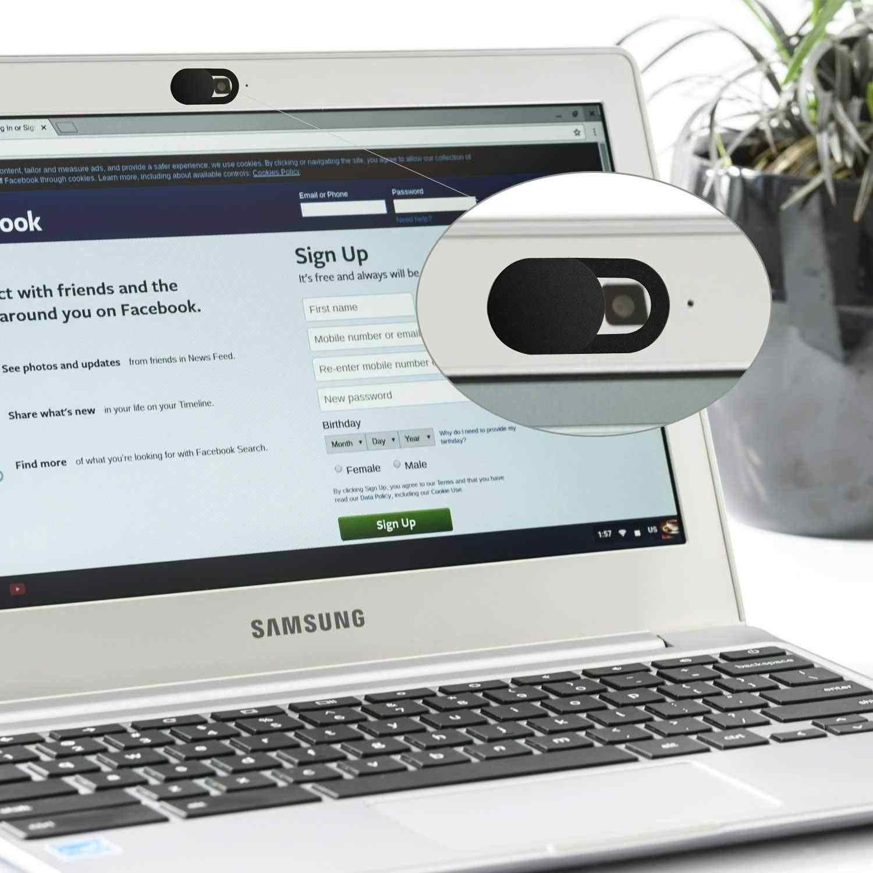 מחשב נייד מצלמה כיסוי דק Webcam כיסוי שקופיות עבור Macbook Air Pro IMac IPad מחשב נייד פרו לוח שולחן עבודה פרטיות מדבקה