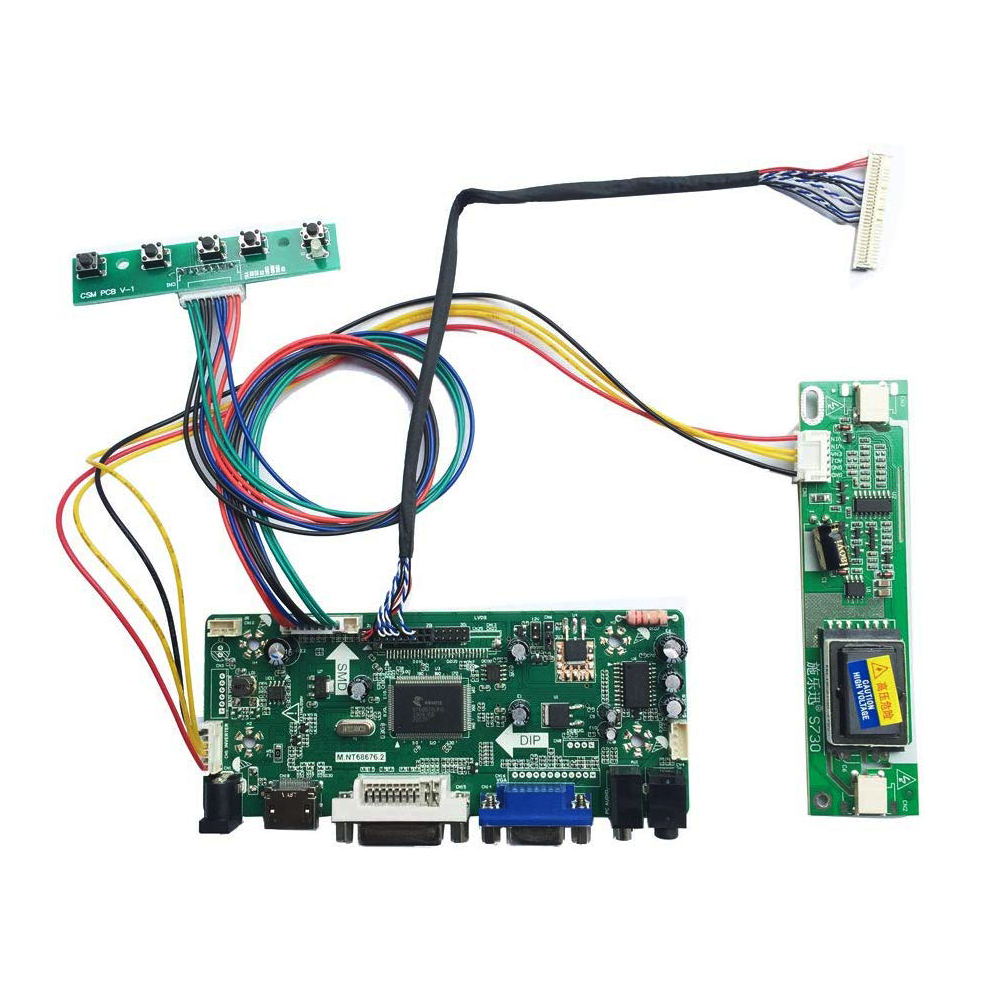 HDMI LCD LED EDP mini Controller board kit for N140BGA-EA3//EA4 1366X768 PANEL