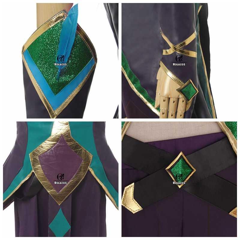 ROLECOS Star Guardian Rakan Косплей Костюм LOL игра косплей мужской костюм Rakan плащ и обувь чехол LOL Хэллоуин