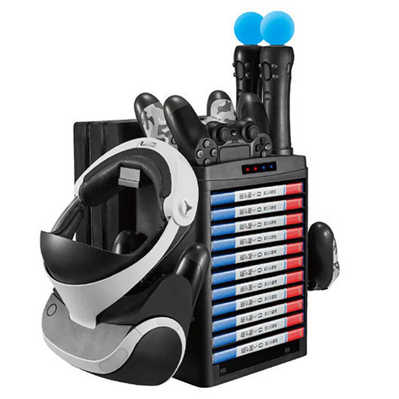 AMS-PS4 プロスリムプロ VS 垂直冷却ファンクーラー PS コンソール充電器ディスプレイキャビネットアクセサリー