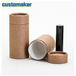 Eco Friendly carton 1/2 OZ 'short» 40ML,70ML 500 PACK | Tube Kraft pour baume à lèvres, Tube déodorant cosmétique biodégradable 100%