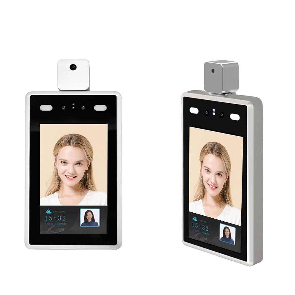 Термальная ip-камера с распознаванием лица, 1080P, 7 дюймов, термо-камера с контролем температуры человеческого тела