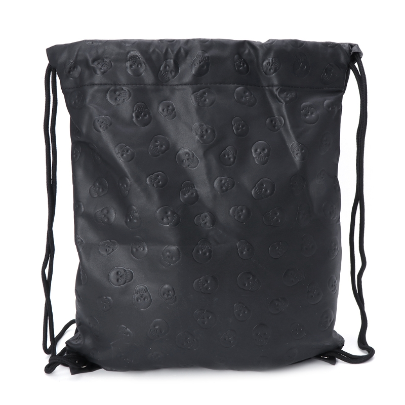 New Unisex Bag Skull Drawstring Fashion Sport Travel Outdoor Backpack Bags