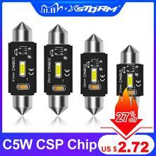 2Pcs C5W Led Canbus C10W Bulb 31mm 36mm 39mm 41mm Festoon Led Car Interior Light Dome Reading License Plate Lamp Auto 6000K 12V