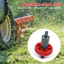Electric Engine Start Lawn Mower Engine Motor Parts ABS and Alloy Practical and Durable Home Lawn Recoil Starter 66X38X38mm