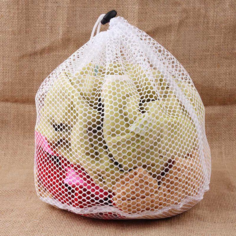 4 Size Washing Laundry Bag Clothing Care Foldable Protection Net Filter Underwear Bra Socks Underwear Washing Machine Clothes