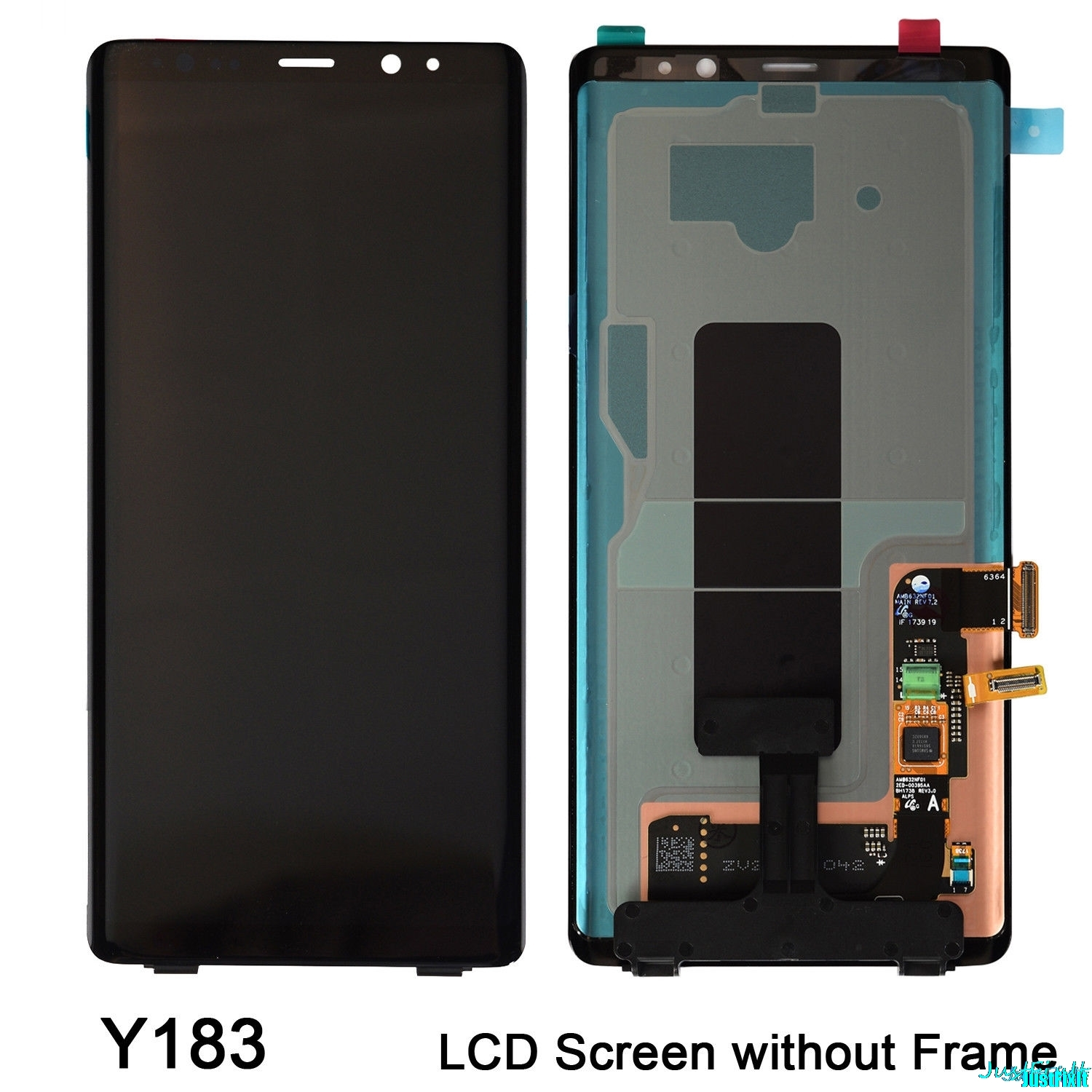 Original For Samsung Galaxy Note 8 N9500 N950FD N950U Defect Lcd Display Touch Screen Digitizer Assembly 6.3