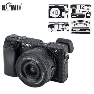 Image 1 - Anti Scratch Camera Body Skin Cover for Sony A6100 A6400 A6300 + SELP1650 16 50mm Lens Protector 3M Sticker Carbon Fiber Film