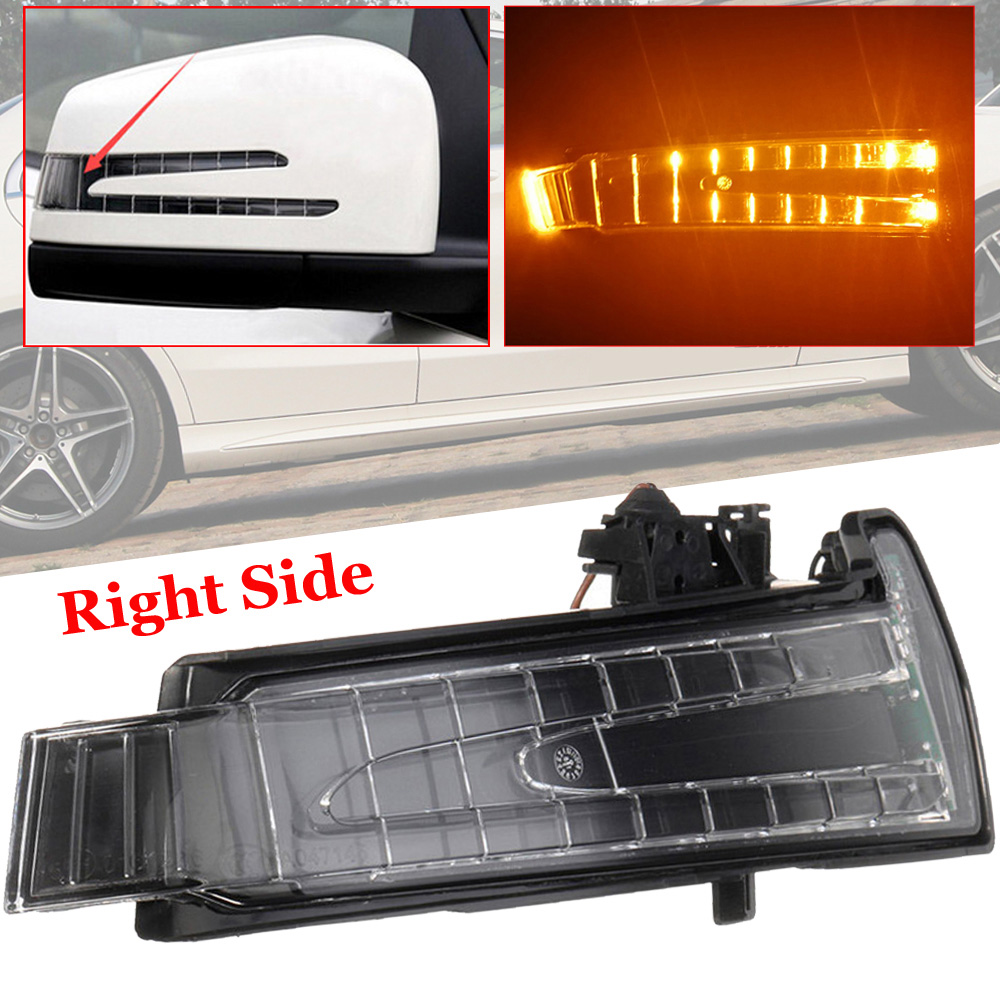 For Mercedes Benz W212 S400 C180 E200 Turn Signal Light A2129067401 Replacement Parts Car Exterior Mirror image