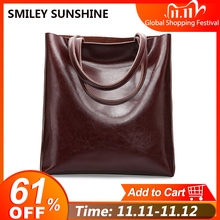 Женская сумка из коровьей кожи, сумки из натуральной кожи, большая женская сумка, большая винтажная женская сумка 2020, Офисные Сумки через плечо для женщин, сумка тоут