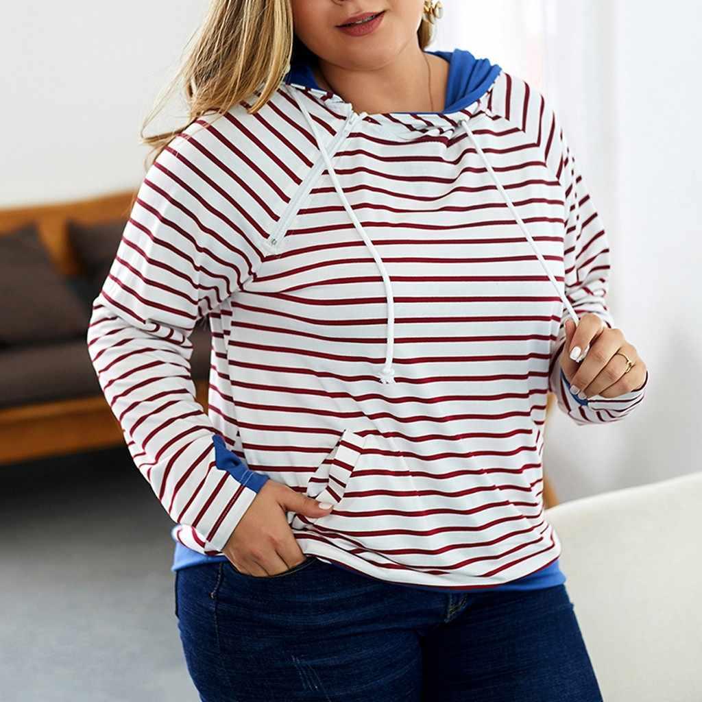 Blusones de mujer largos สตรีแฟชั่นพลัสขนาดแขนยาว Hooded แขนยาว blusa feminina