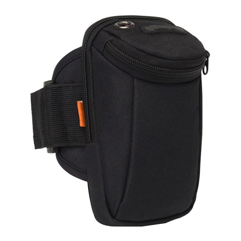 Tactical Universal Holster Military Molle Arm Bag Wallet Pouch Purse Phone Case Zipper Bag Outdoor Running Wrist Bag L6