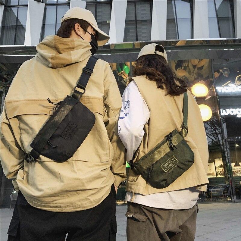 Messenger Bag Men's Bag Fashion Trend Personality Casual Shoulder Bag Boys Ins Tide Brand Diagonal Back Female