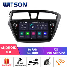 WITSON Android 9.0 Tela IPS HD para HYUNDAI I20 2015 CARRO DVD GPS ESTÉREO 4GB RAM + 64GB FLASH 8 Octa Núcleo + DVR/WIFI + DSP + DAB + OBD(China)