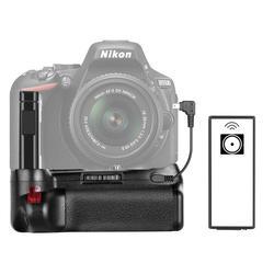 Neewer Professinal Vertical Battery Grip Work with EN-EL14a Recgargeable Battery for Nikon D5500 D5600 DSLR Camera