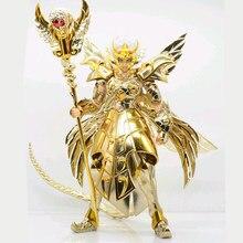 Em estoque jmodel saint seiya próxima dimensão ex 13th ouro santo ophiuchus odysseus pvc figura de ação metal armadura modelo brinquedos presentes