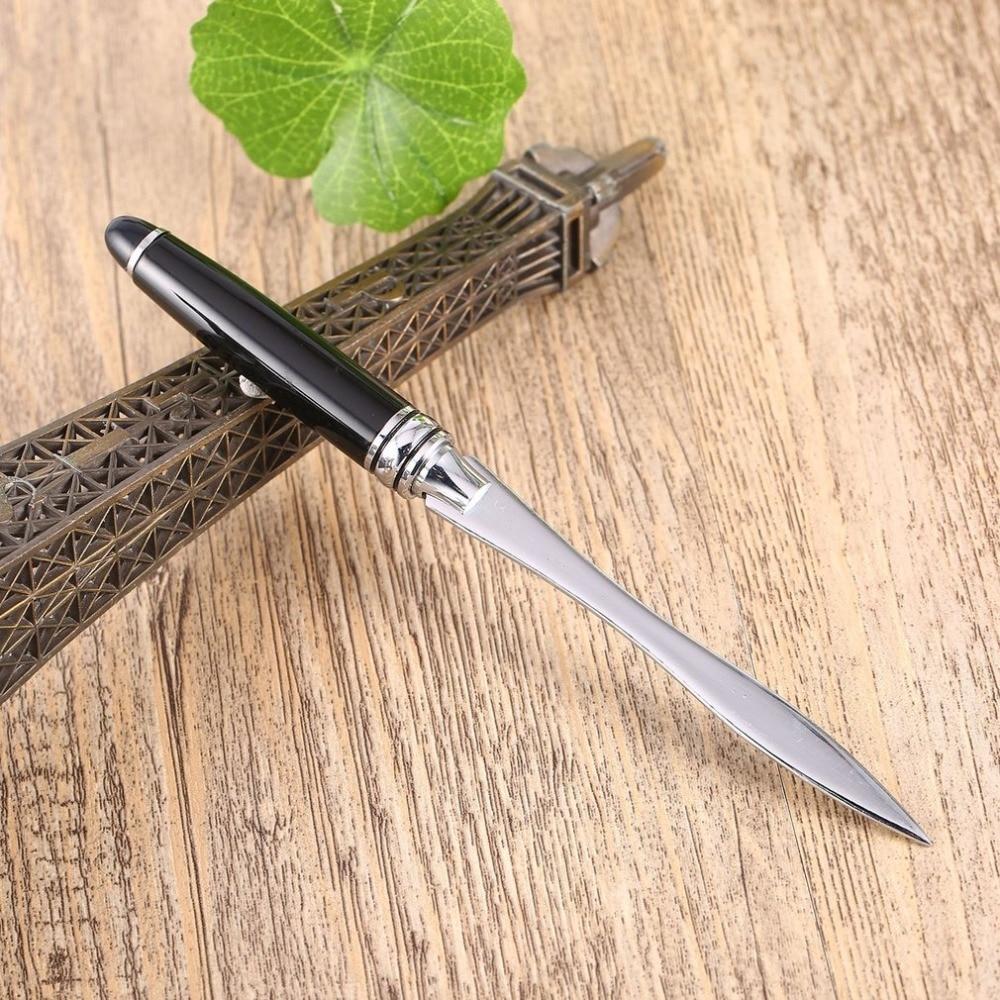 Paper Letter Opener Paper Knife Letter Cutter Office School Stainless Steel Cutter Split File Envelopes Cuchillos