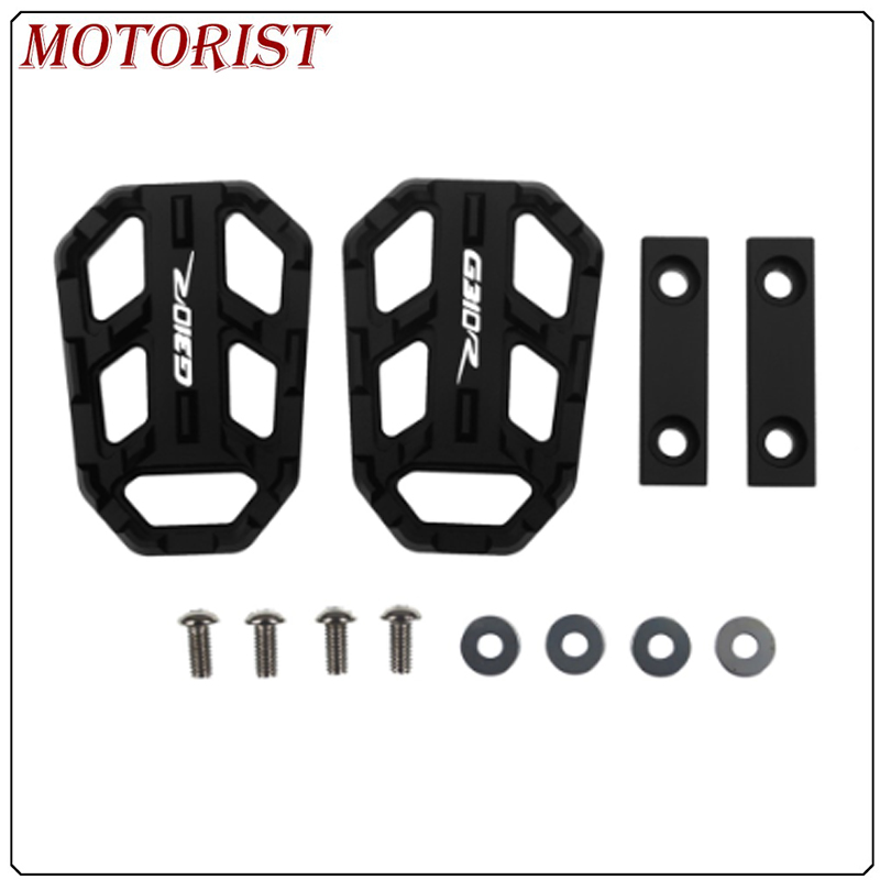For <font><b>BMW</b></font> G310R <font><b>G</b></font> <font><b>310R</b></font> g310r 2017-2019 Motorcycle Billet Footrest Wide Pedals Pedal Rest Footpegs image
