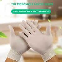 100 sztuk grubość jednorazowe rękawice nitrylowe rękawice robocze Prep żywności rękawice kuchenne/do kuchni do jedzenia usługi rękawice do sprzątania bezpieczeństwo