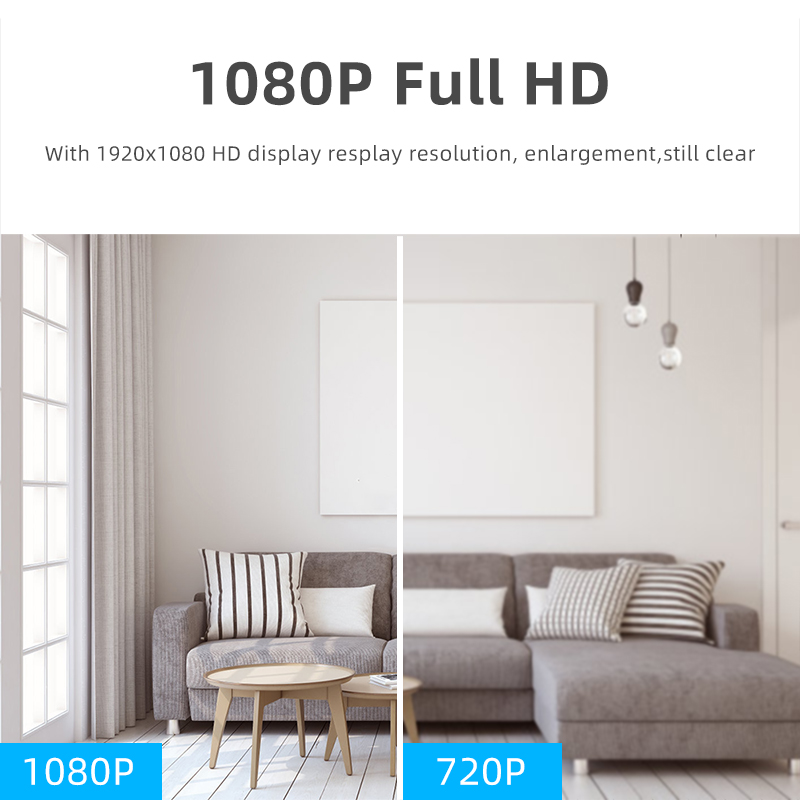1080P Wireless Mini Camera With Night Vision And Fully Functional Security camera 5